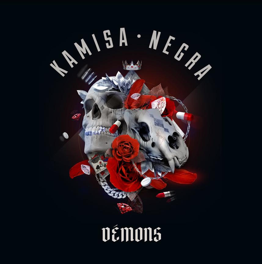 """KAMISA NEGRA DEVOILE """"DEMONS"""""""