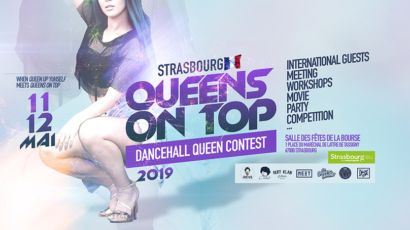 QUEENS ON TOP FRANCE - DANCEHALL CONTEST