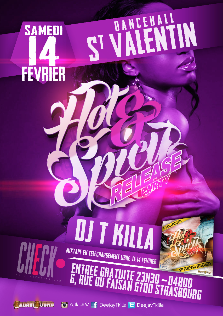 HOT 1& SPICY RELEASE PARTY