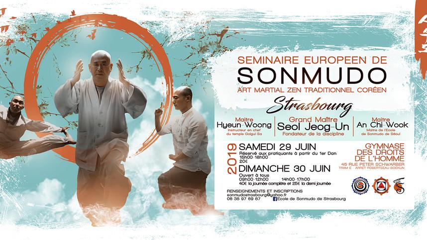 SEMINAIRE EUROPEEN DE SONMUDO A STRASBOURG