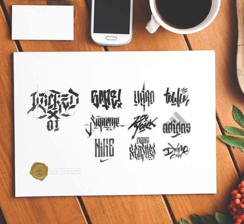CALLIGRAPHY VS HYPE