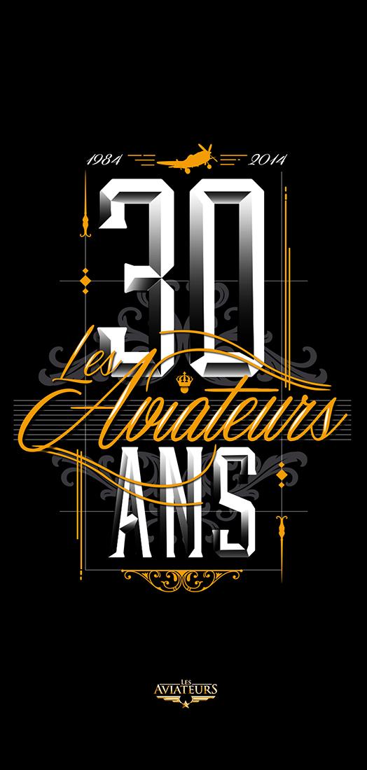 LE AVIATEURS - 30 ANS