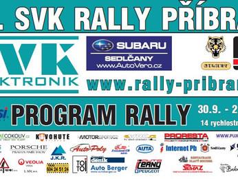 Program 37. SVK Rally Příbram je již v prodeji