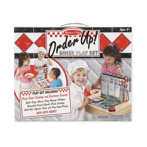 Order Up! Diner Play Set ชุดเล่นเปิดร้านไดเนอร์