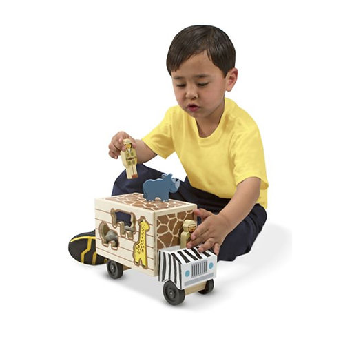 Animal Shape Sorting Truck