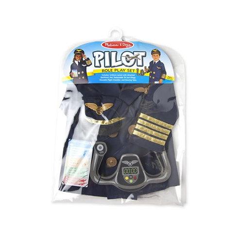 Pilot Role Play Costume ชุดสวมบทบาทนักบิน