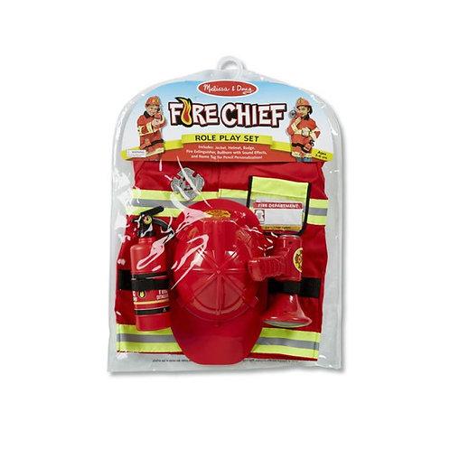 Fire Chief Role Play Costume ชุดสวมบทบาทนักดับเพลิง