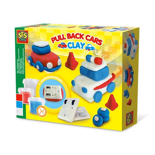 Clay - Pull back cars ชุดประดิษฐ์รถแข่งสำหรับเด็ก
