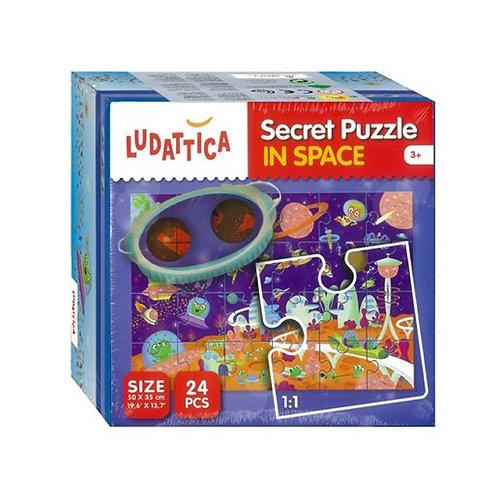 LUDATTICA SECRET PUZZLE 24 PCS IN SPACE