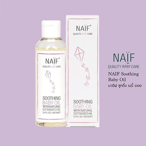Naif Soothing Baby Oil 100 ml