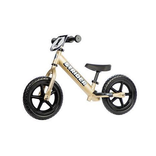 Strider Bike 12 Pro Gold