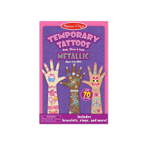 Temporary Tattoos - Metallic แทททูเด็ก รุ่นเมทัลลิค 70 ชิ้น