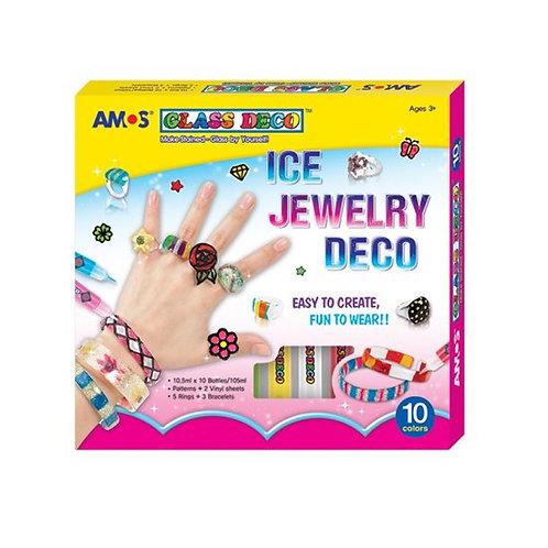 ชุดระบายสี Amos Ice Jewelry Deco