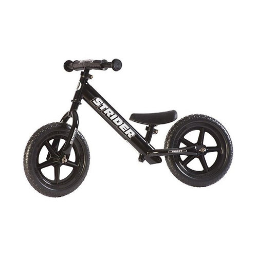 Strider Bike 12 Sport - Black
