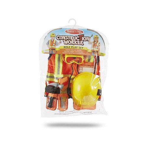 Construction Worker Role Play Costume ชุดสวมบทบาทก่อสร้าง