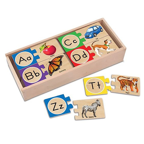 Self-Correcting Alphabet Puzzle พัซเซิลไม้ A-Z