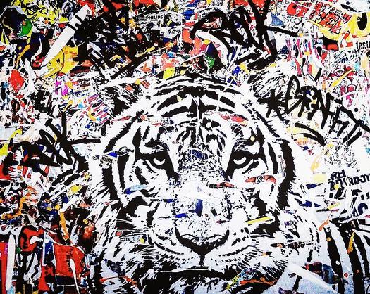 Graffiti Tiger