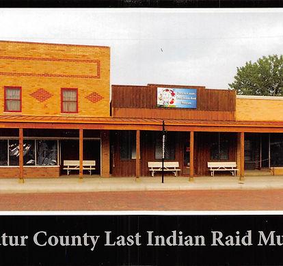 Decatur County Last Indian Raid Museum