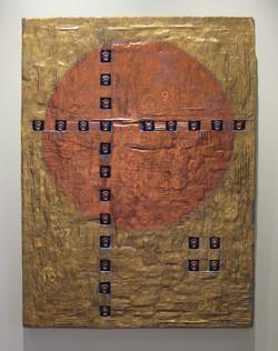 "Copper Moon XII, 40x30"""