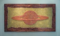 """Saturn, 36x66"""""""