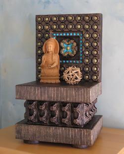 """Altar VII Adorned, 22x12.75x10.5"""""""