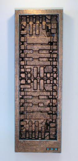 "Panel No. 6, 45x15x4"""