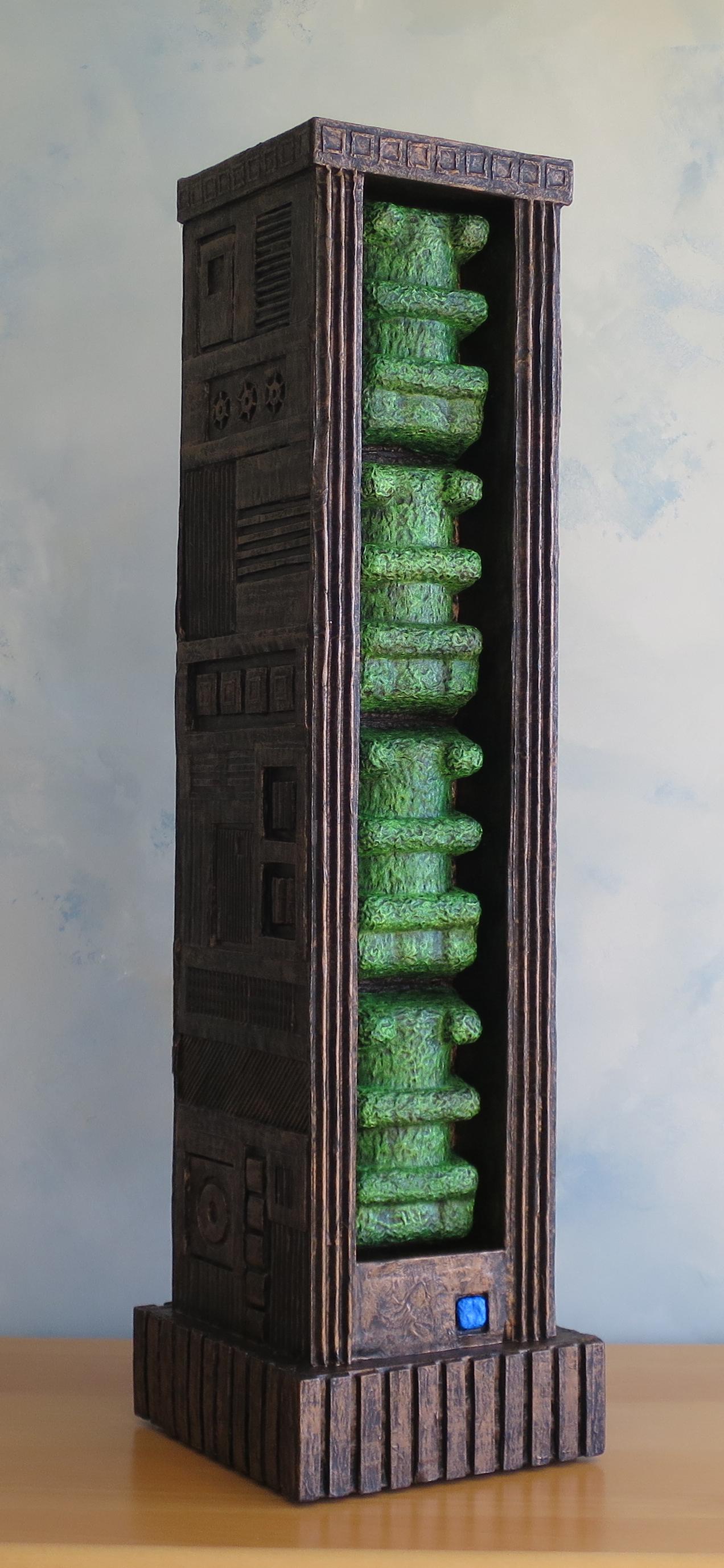 "Stela No.2, 30.5x7x8.5"""