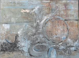 80 x 60 cm Akryl på lærred