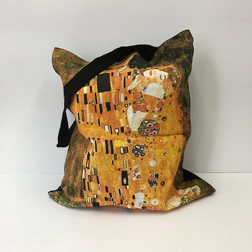 "Katoenen tas ""De Kus"" Gustav Klimt"