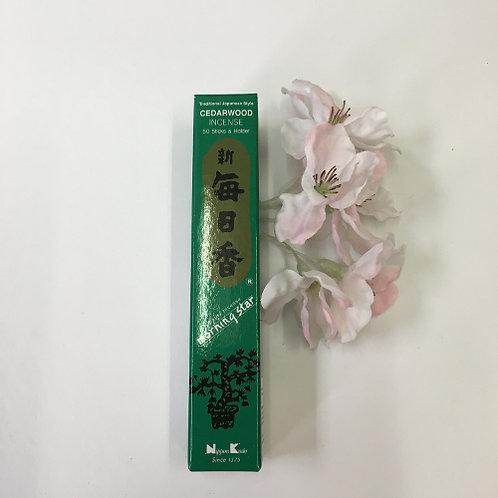 Cedar - Morningstar wierook Japan incense