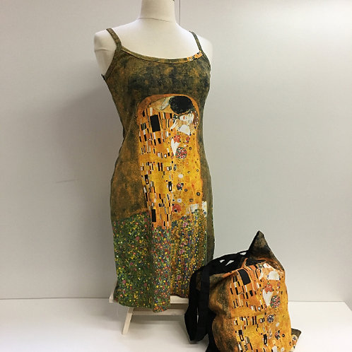 "Zomerjurk: ""De Kus"" van Gustav Klimt"