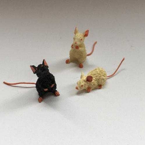De katten van Dubout  trhee mouse drie muizen