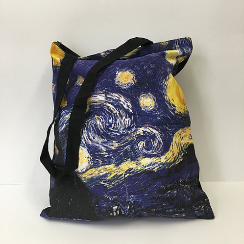 "Katoenen tas ""Starry Night"" Vincent van Gogh"
