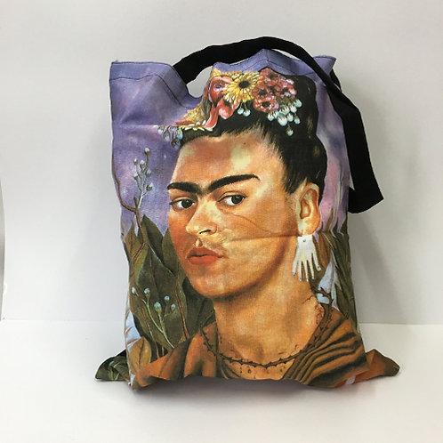 "Katoenen tas ""Frida Kahlo"""