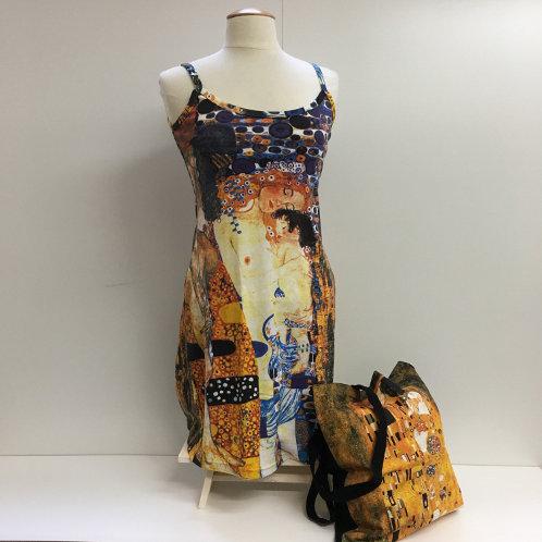 "Zomerjurk: ""De drie levensfasen"" van Gustav Klimt"