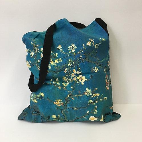"""Katoenen tas """"Amandelbloesem"""" van Vincent van Gogh"""