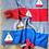 Thumbnail: Sailboat Baby Blanket