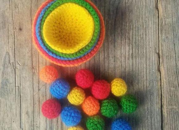 Bowls & Balls Sorting-Stacking Set