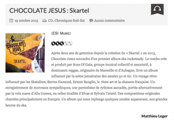 Chocolate Jesus - Nouvelle Vague-Oct15