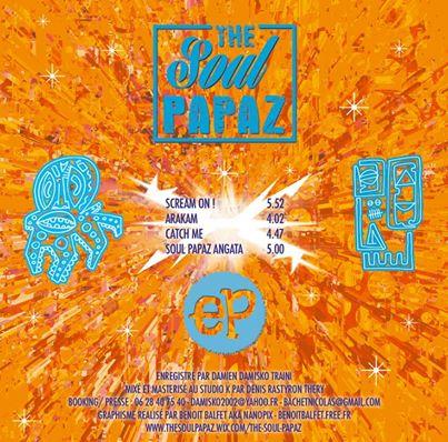 Soul Papaz - EP 4 titres