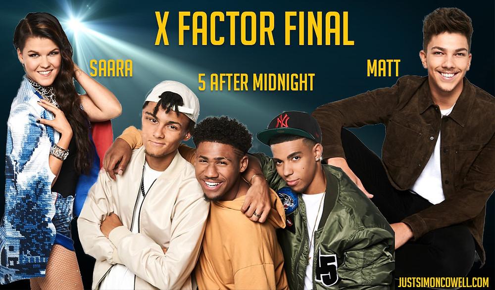 X Factor Finalists 2016