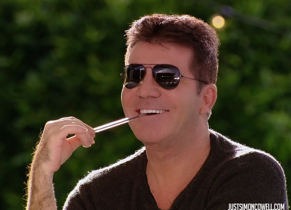 Simon Cowell X Factor Boot Camp