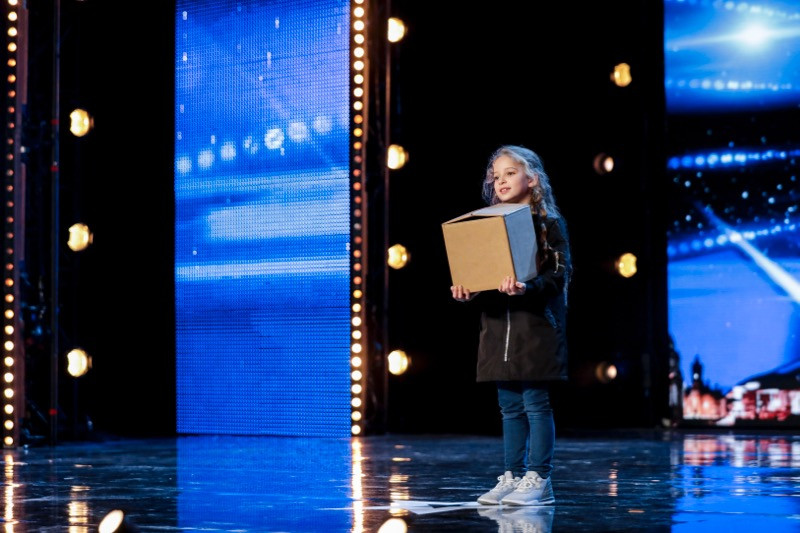 Issy Simpson on Britain's Got Talent 2017