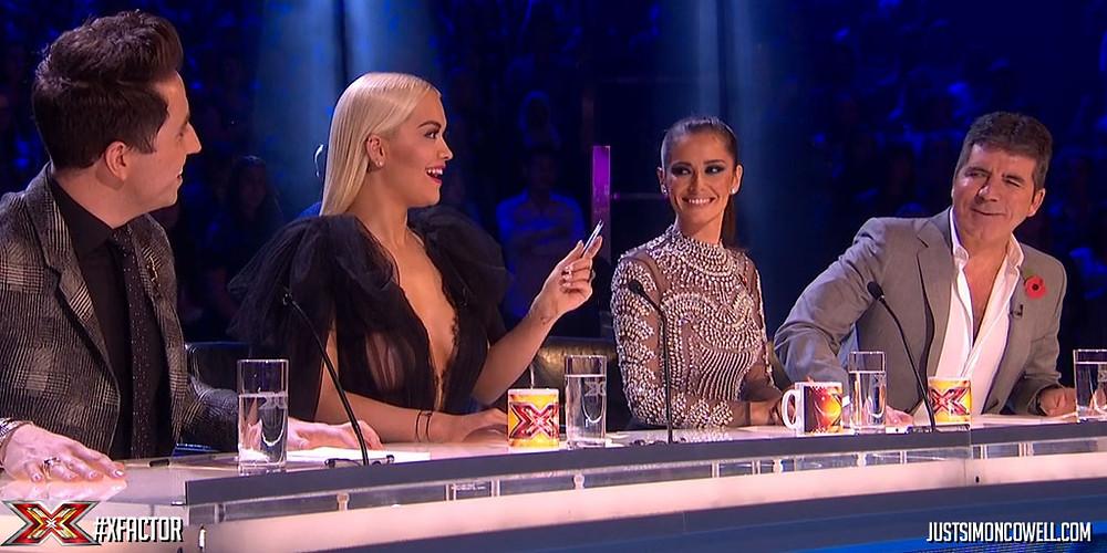 X Factor judges 1015
