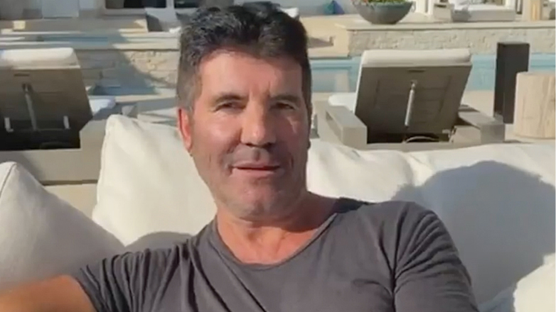 Simon Cowell supporting the Hopefield Animal Sanctuary