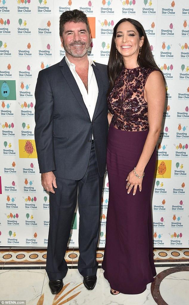 Simon Cowell with girlfriend Lauren Silverman