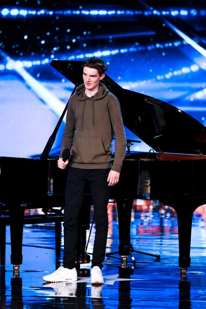 Harry Gardner on Britain's Got Talent 2017