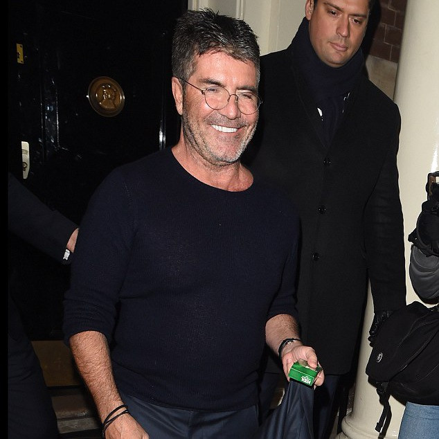 Simon Cowell at the Larry King Salon Launch
