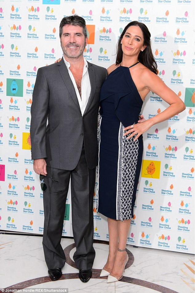 Simon Cowell and Lauren Silverman attended the Shooting Star Chase Children's Hospice afternoon tea party