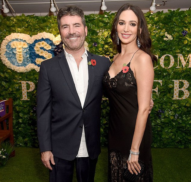 Simon Cowell and Lauren Silverman at the Pride of Britain Awards